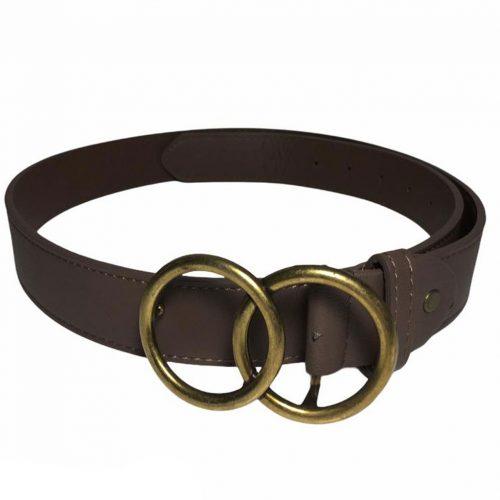 Vista de cinturón marrón OO
