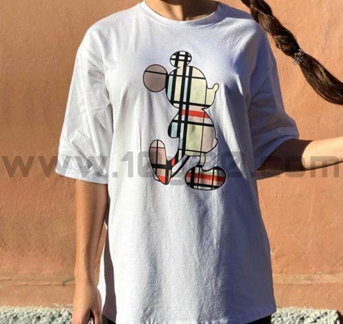 vista de camiseta blanca Mickey cuadros